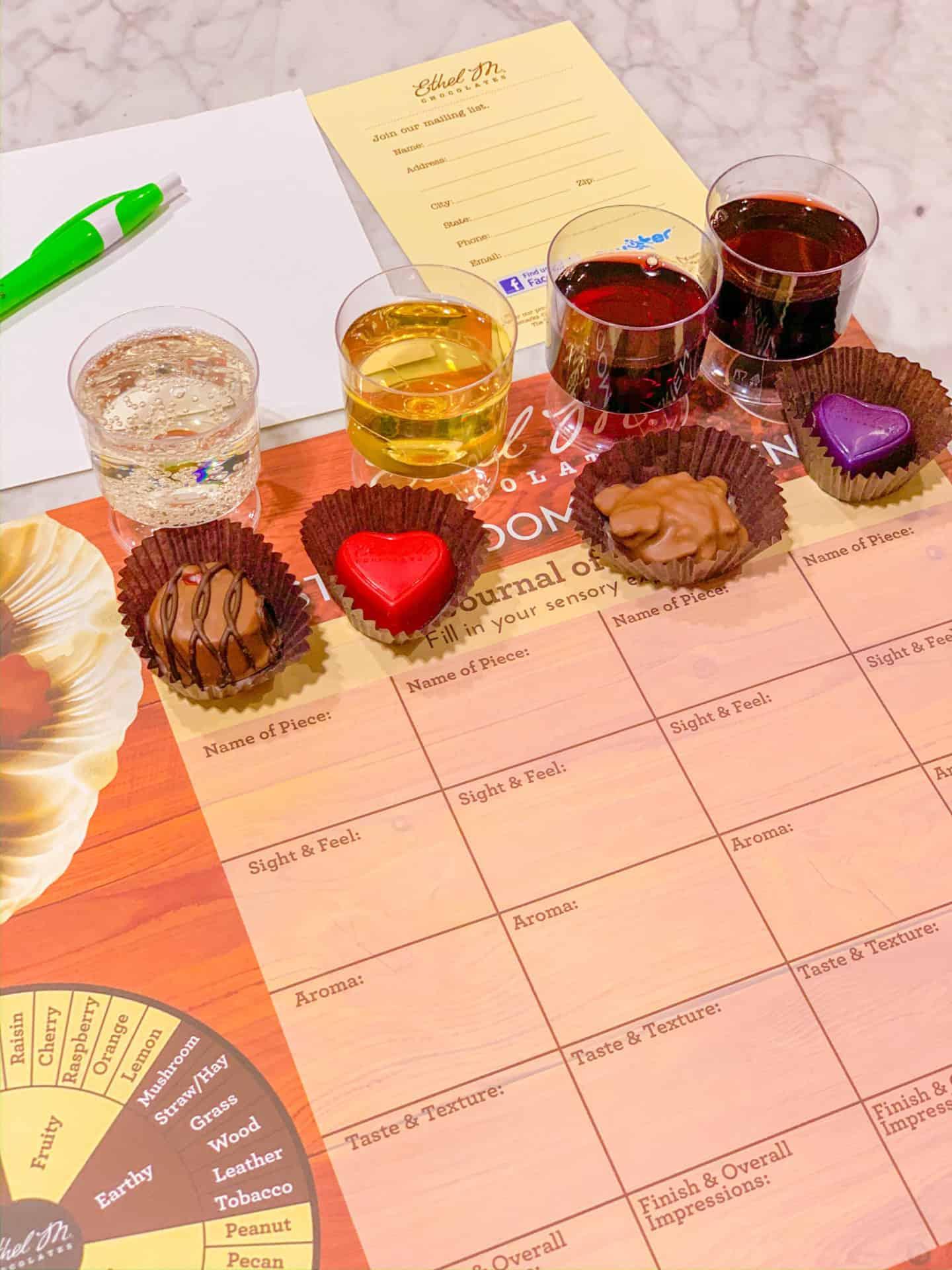 Las Vegas Chocolate & Wine Tasting Experience