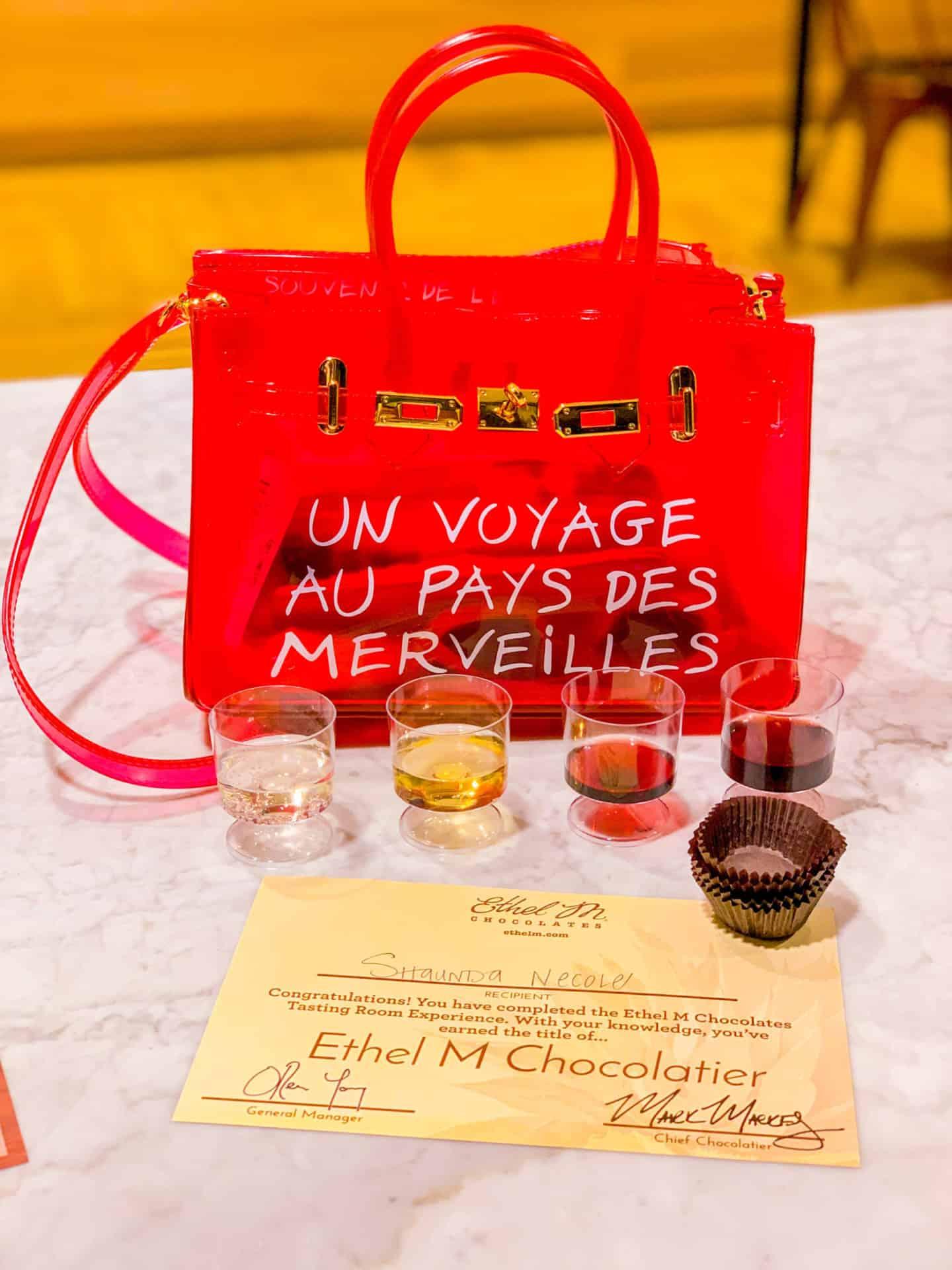 Ethel M Chocolatier - Date Night Wine Tasting Experience