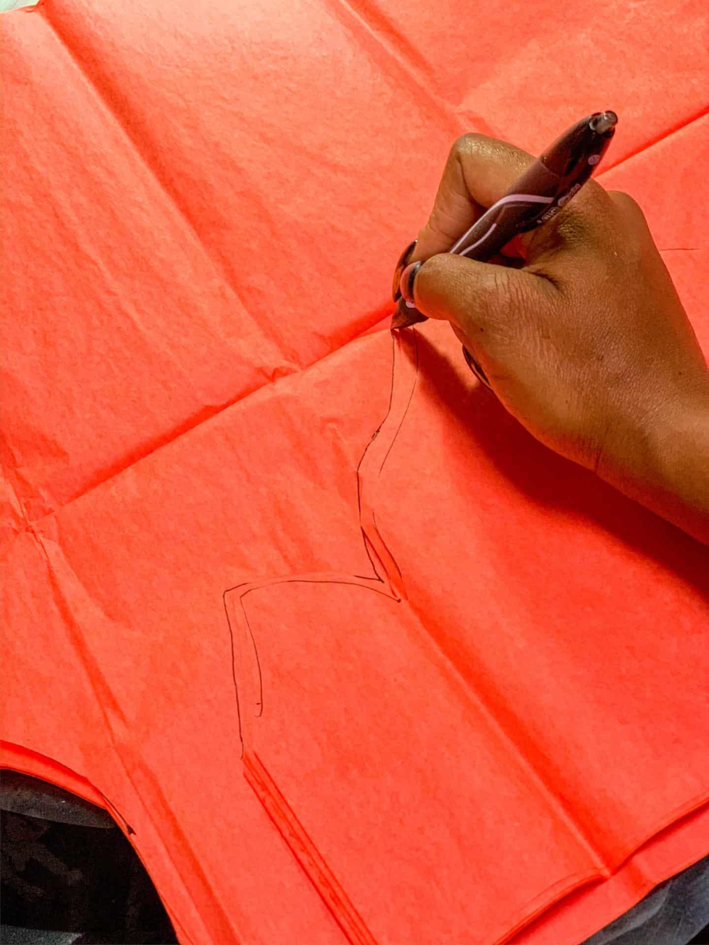 DIY Crafts - Tracing Paper Flames