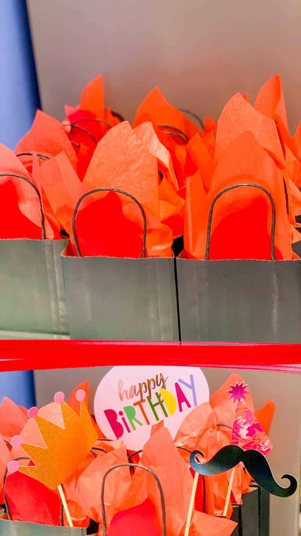 Firefighter Birthday Party Centerpieces
