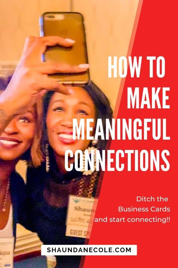How to Make Meaningful Connections