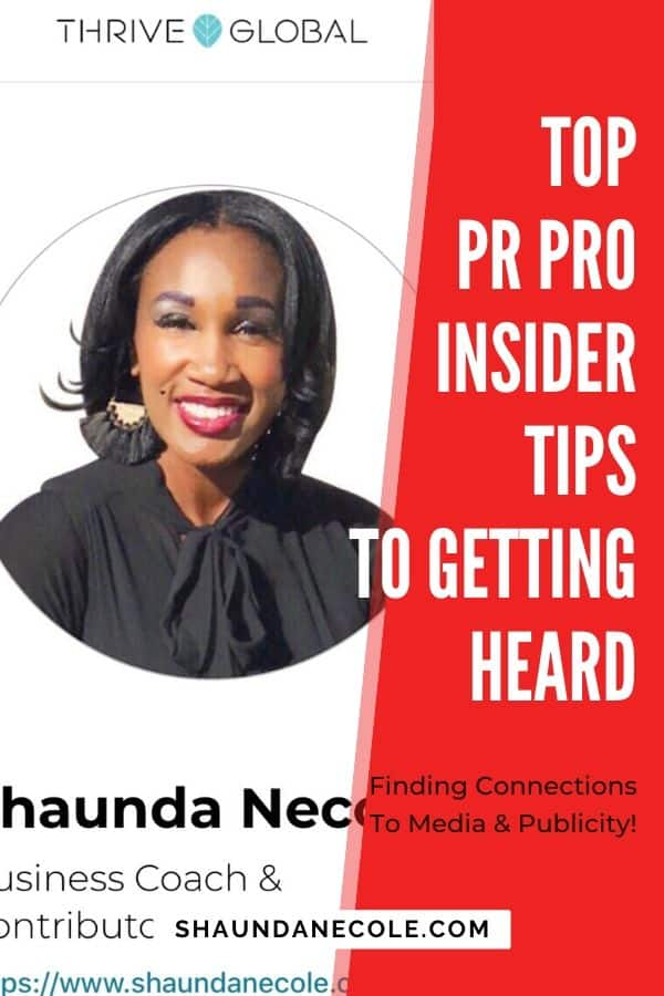 Publicity Pro Insider Tips To Getting Heard