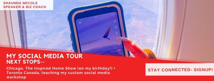 My Social Media Tour - Next Stops Chicago & Toronto