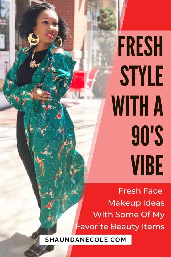 Fresh Style With A 90s Vibe