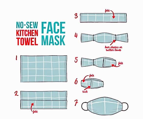 DIY Your Own No-Sew Face Mask