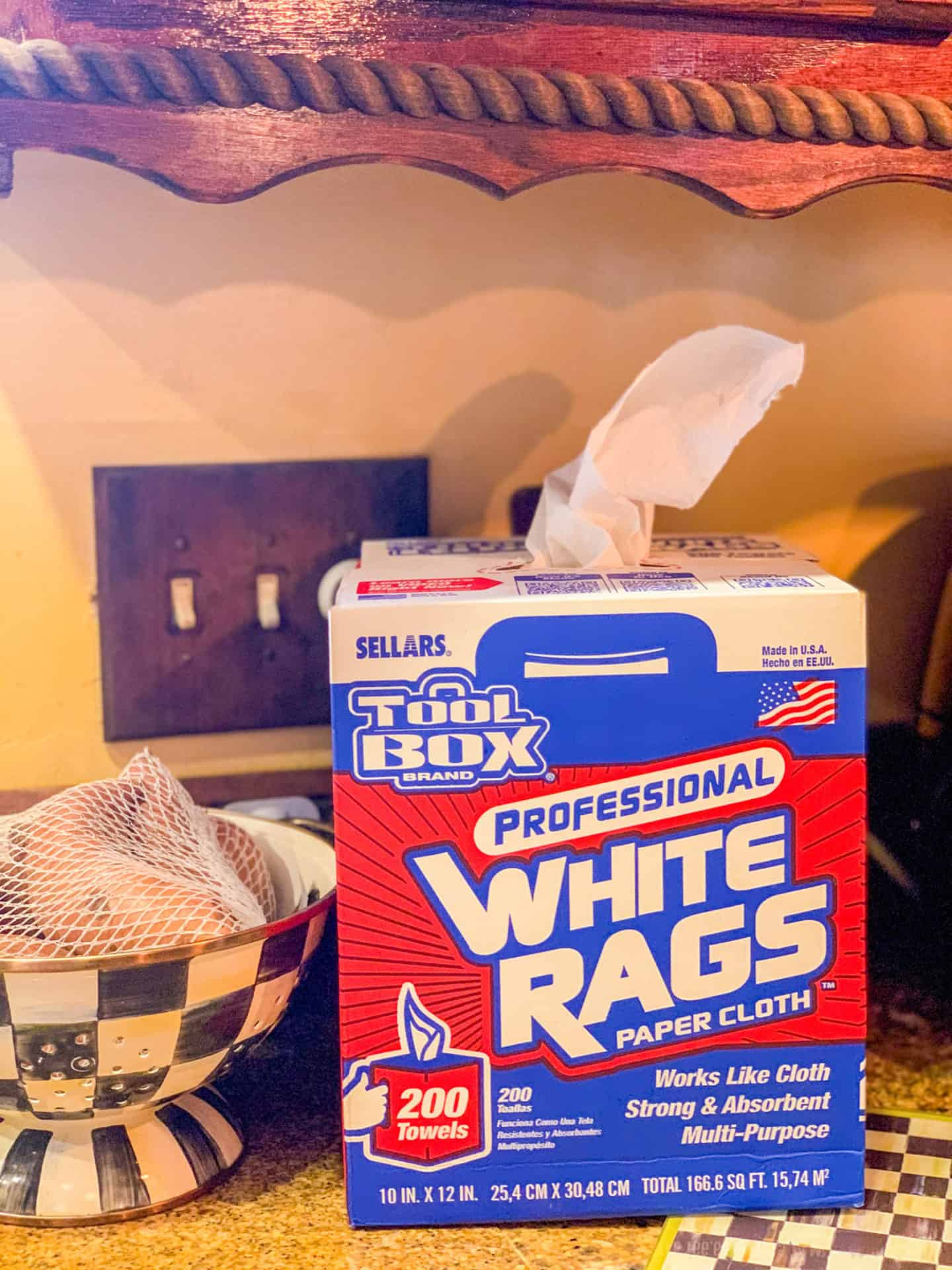 What To Use In Place Of Paper Towels: Professional White Tags