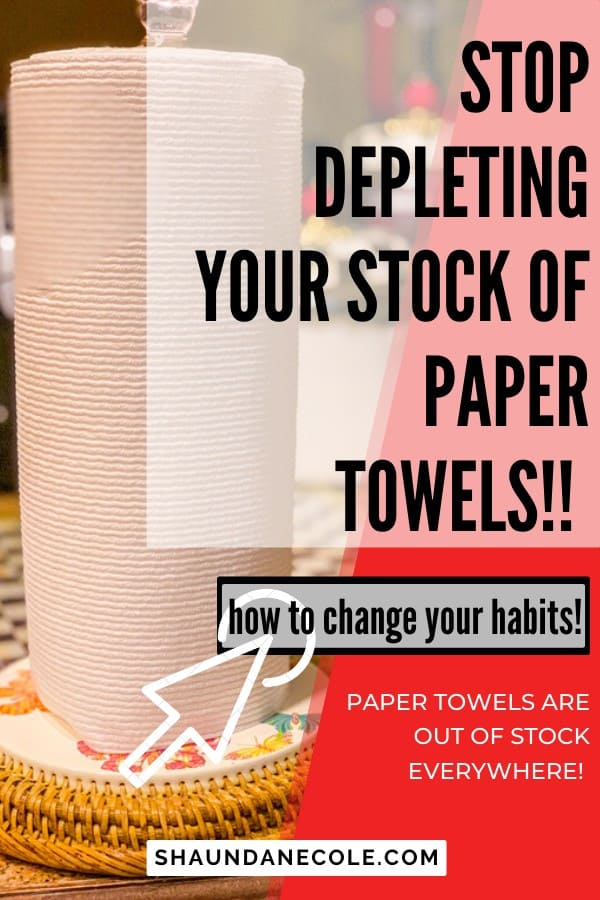stop depleting your paper towels
