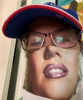 Printable DIY Selfie Face Mask