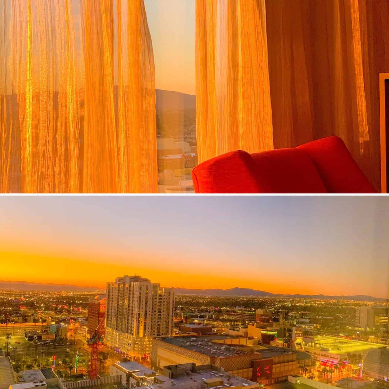 Las Vegas Hotel Sunset Views
