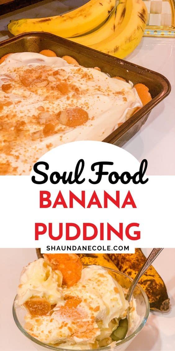 Soul Food Banana Pudding Recipes