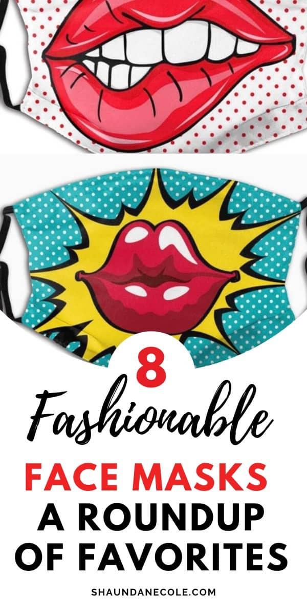 fashionable face masks roundup