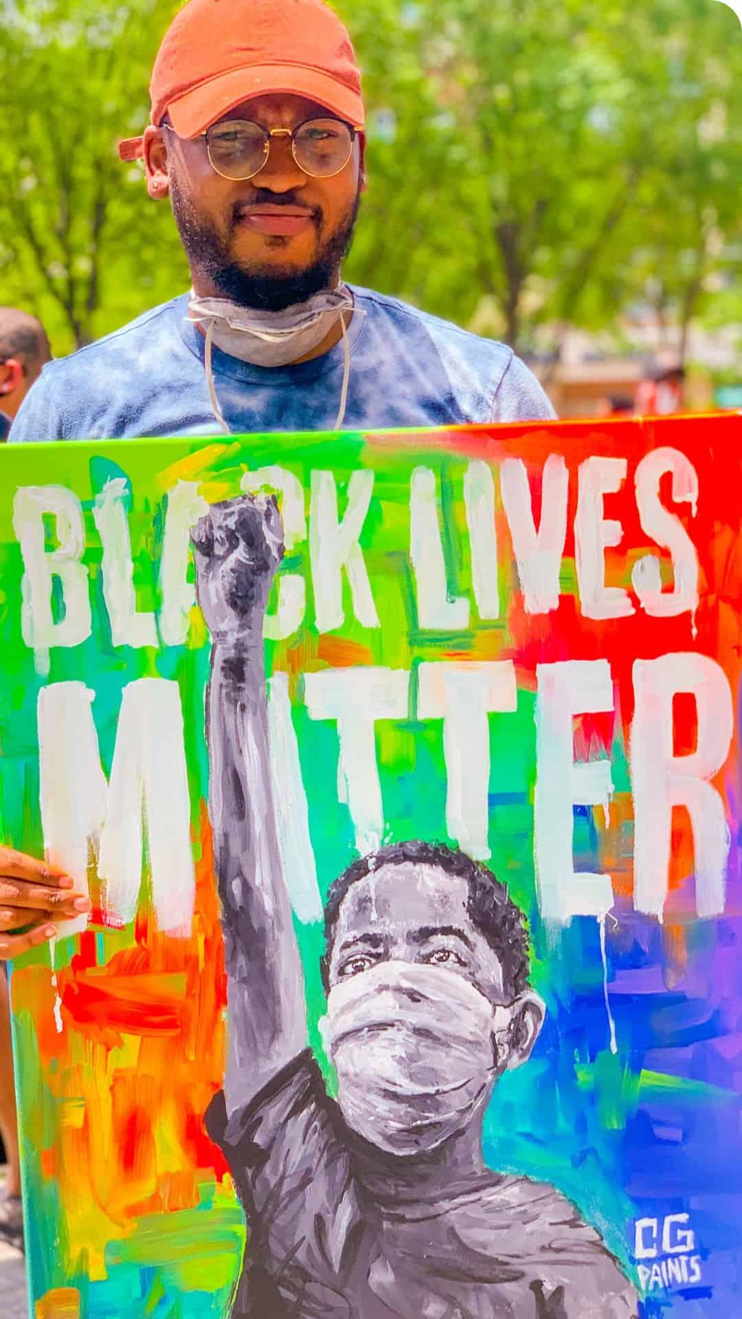 Black Lives Matter inspirational art