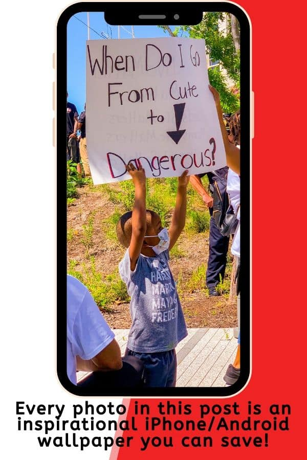 Black Lives Matter Free iPhone Wallpaper