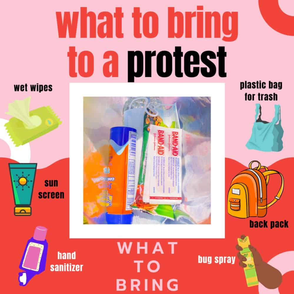 What To Have At A Protest