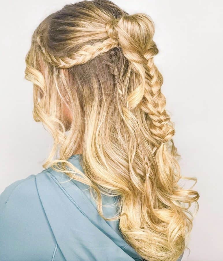 braided hairstyles for blondes