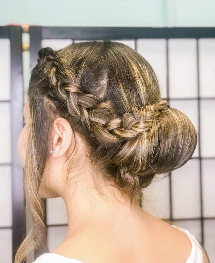 wedding braided hairstyles