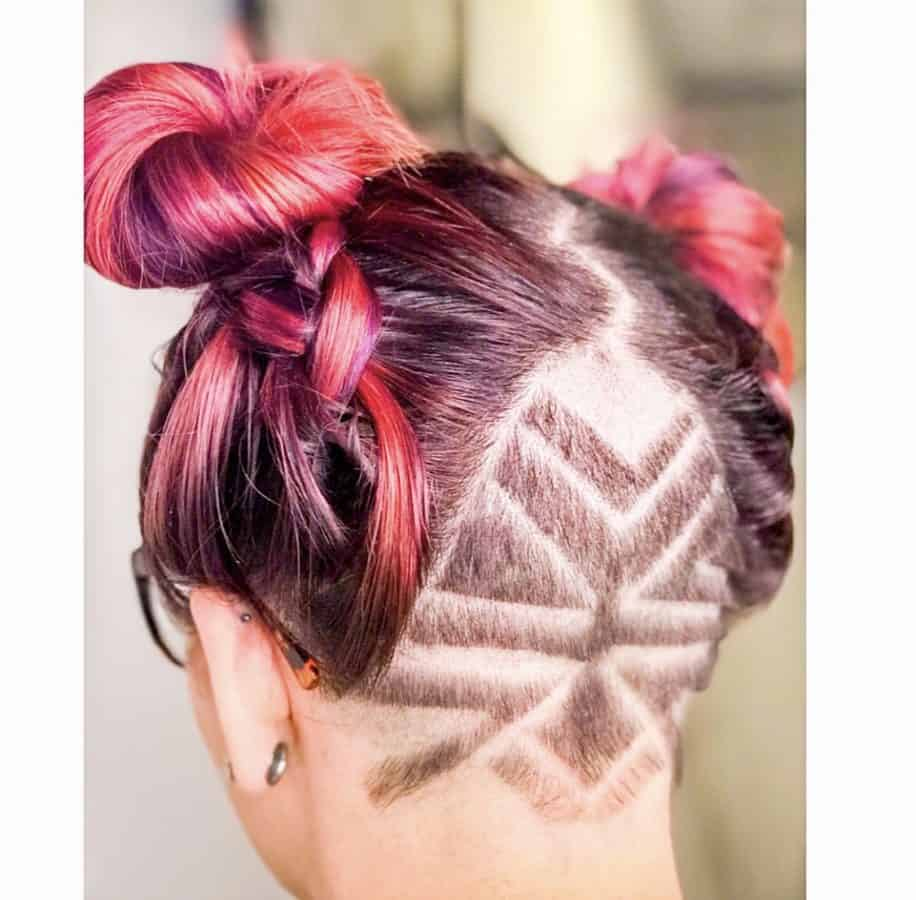 undercuts and braided hairstyles