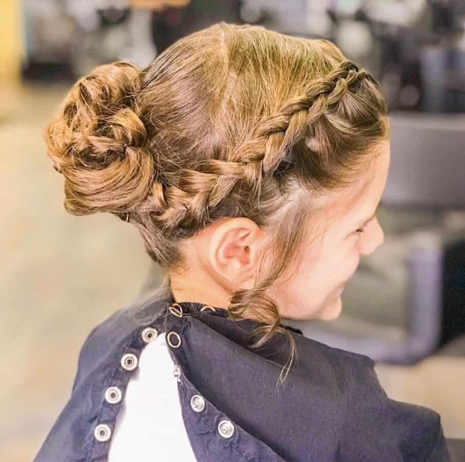 kids unique braids