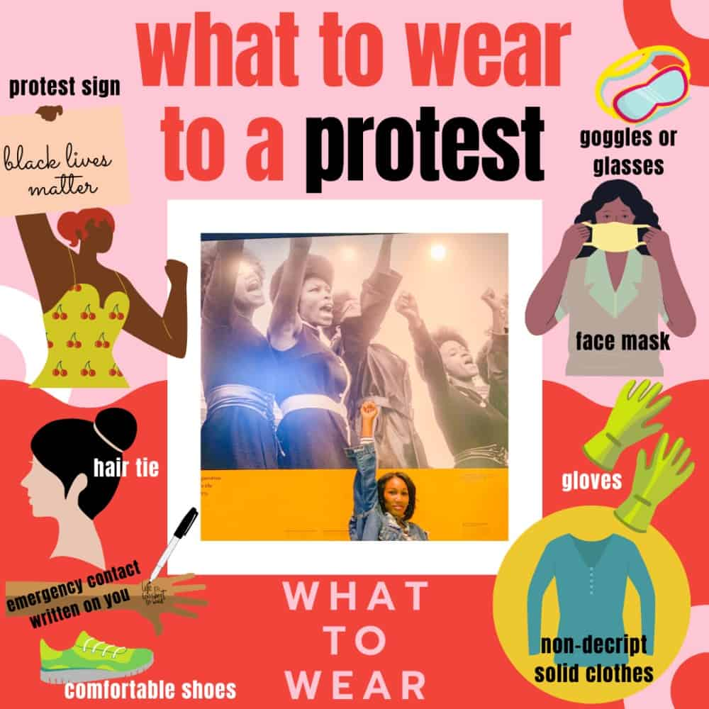 What To Wear To A Protest