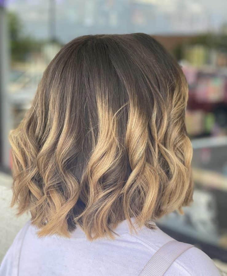 Balayage Color, Cut & Bob Haircut by Destiny Moody - MUAH Destiny