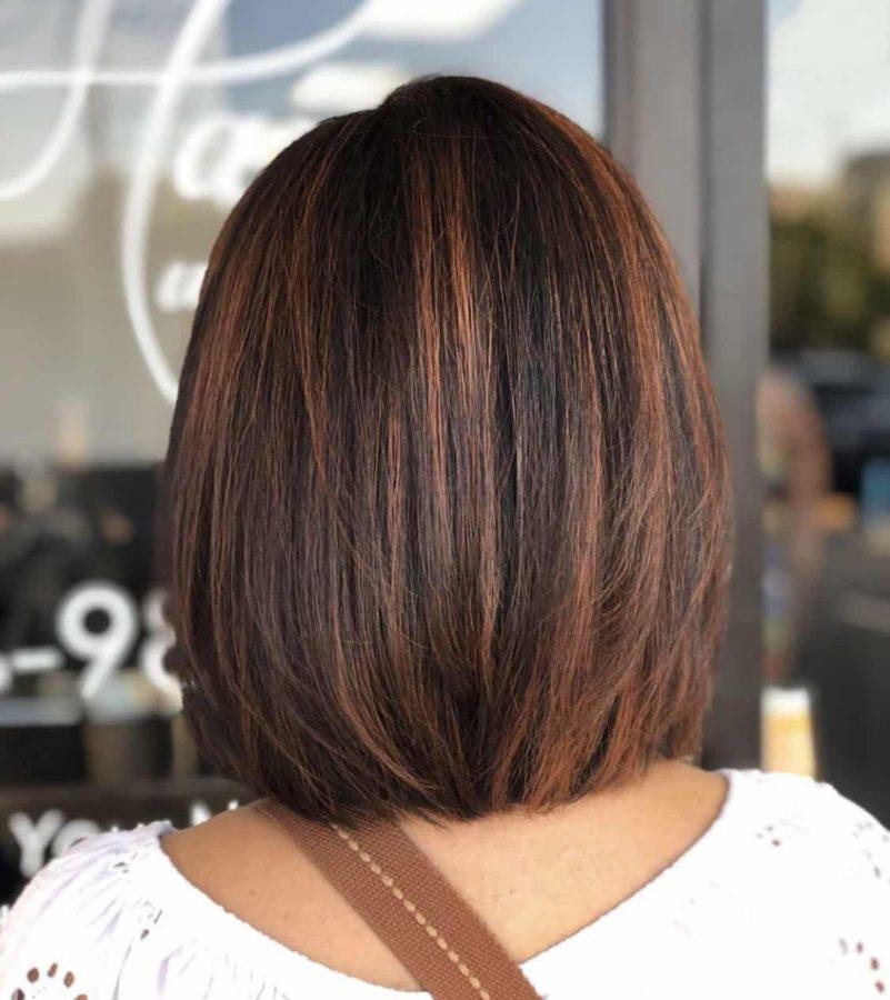 Bob Haircut & Hair Color Ideas For Brunettes by Destiny Moody - MUAH Destiny