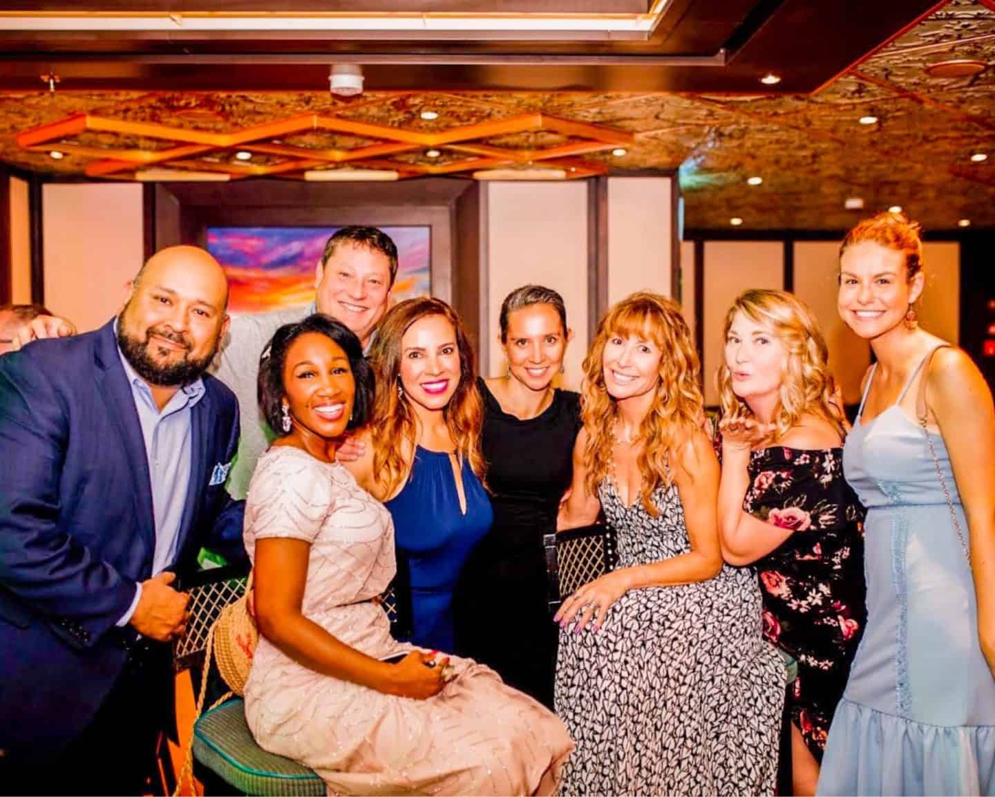 Carnival Cruise Ship Crew Formal Dinner - how to build meaningful relationships