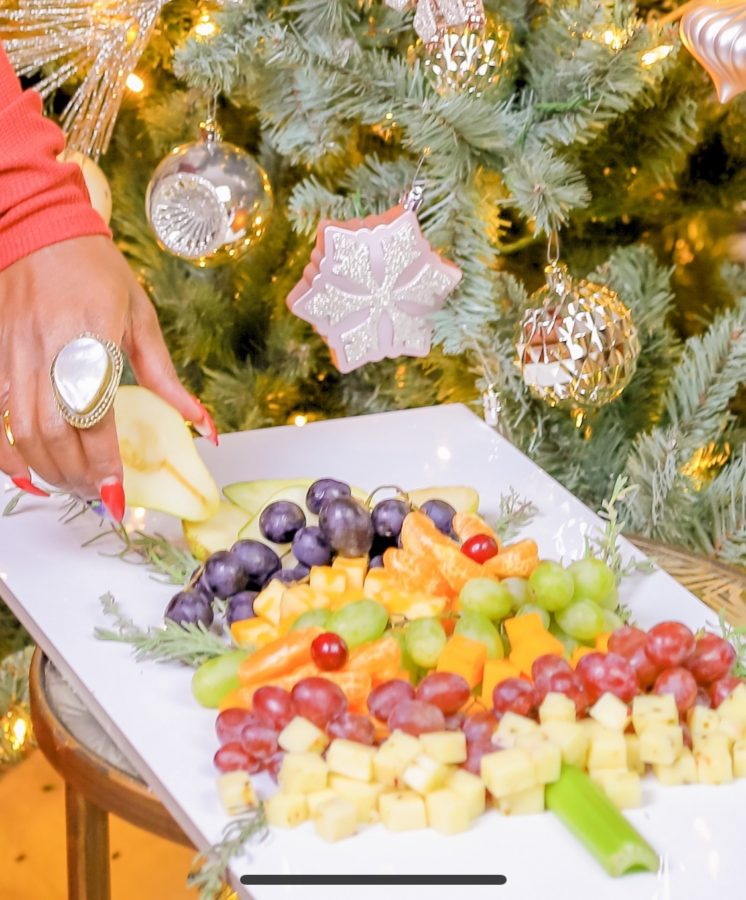 Christmas Tree Party Platter