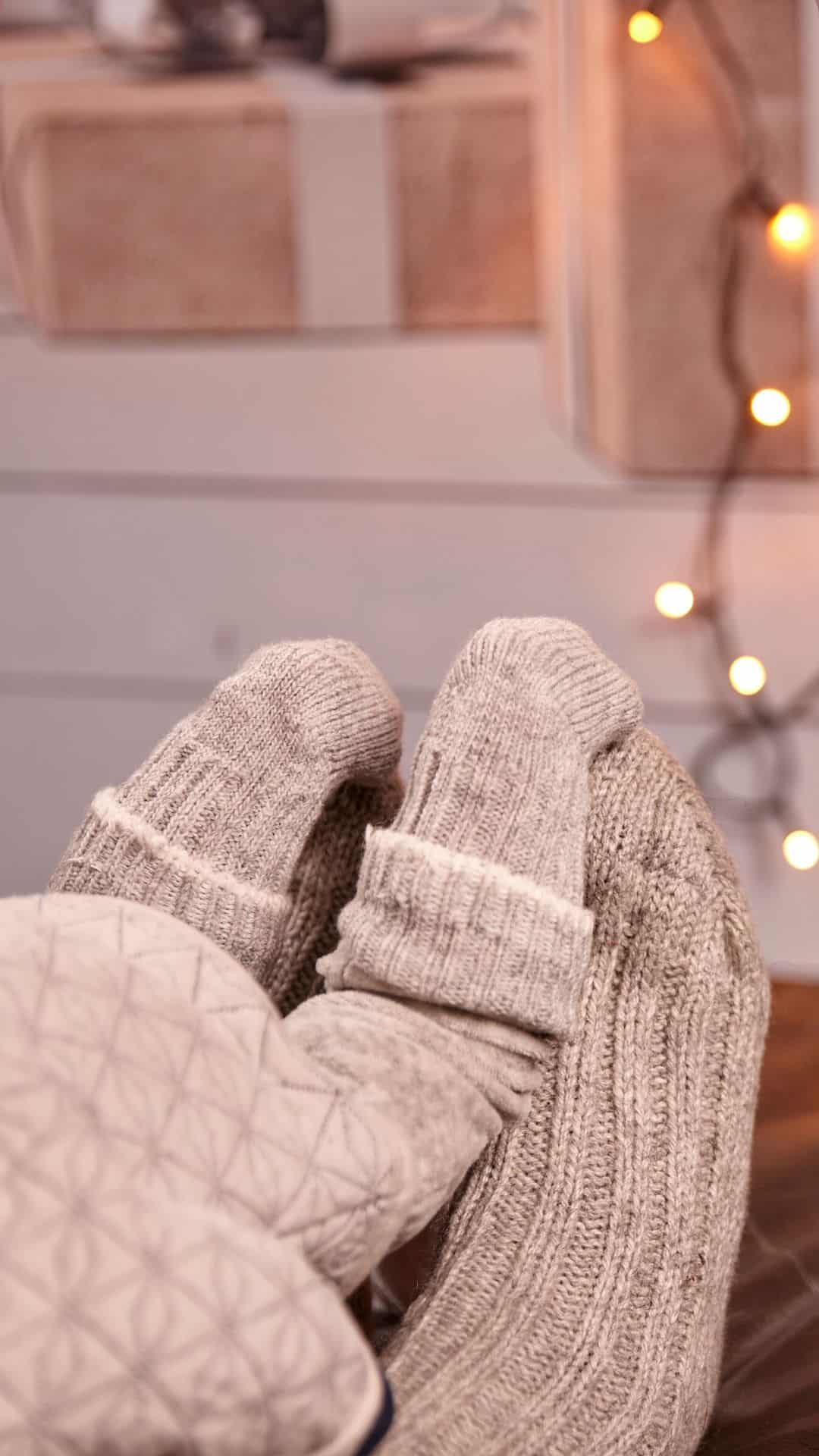 Christmas Wallpapers For iPhone Cozy Socks