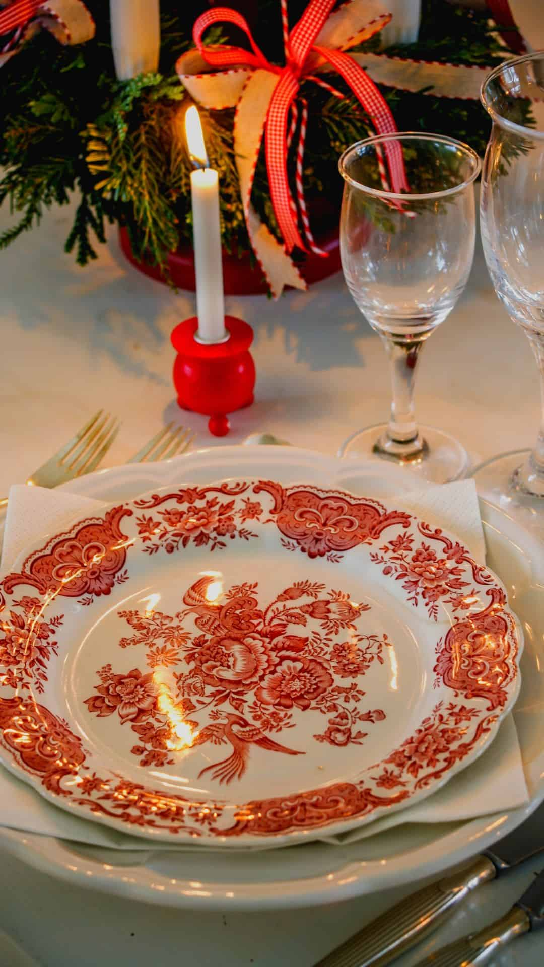 Cozy Christmas Backgrounds For iPhone Wallpaper Christmas Table Setting