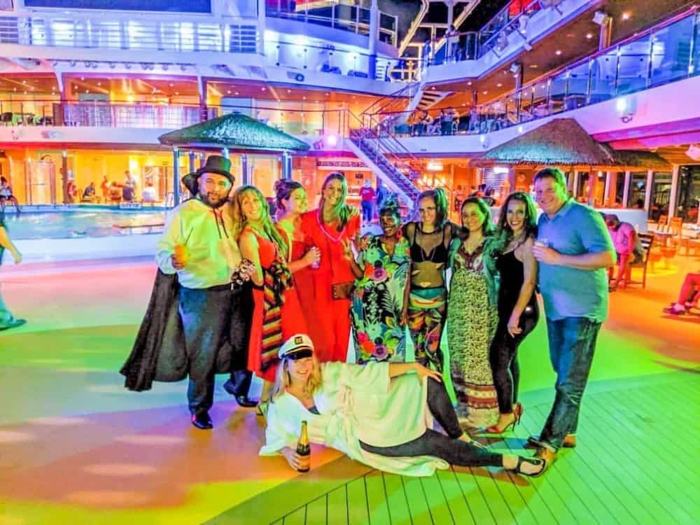 Cruise Ship Crew Halloween Carnival Vista - how to build meaningful relationships