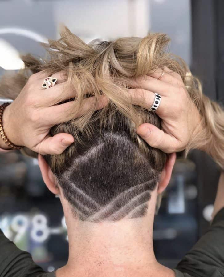 Hairstyle Undercut Designs by Destiny Moody - MUAH Destiny