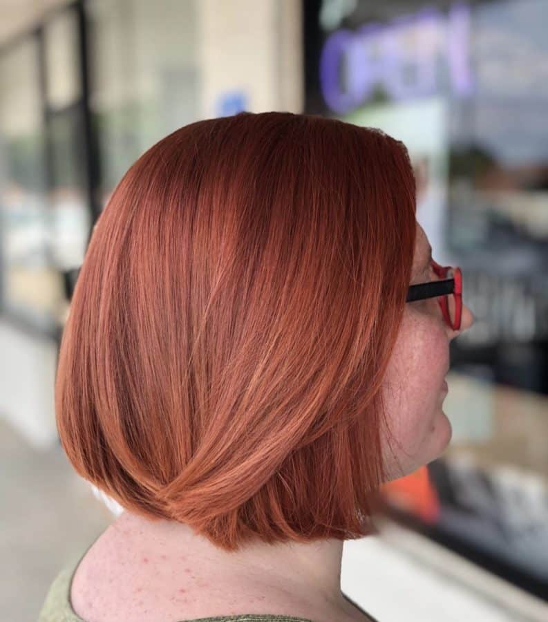 Red Hair Color and Bob Hairstyles by Destiny Moody - MUAH Destiny