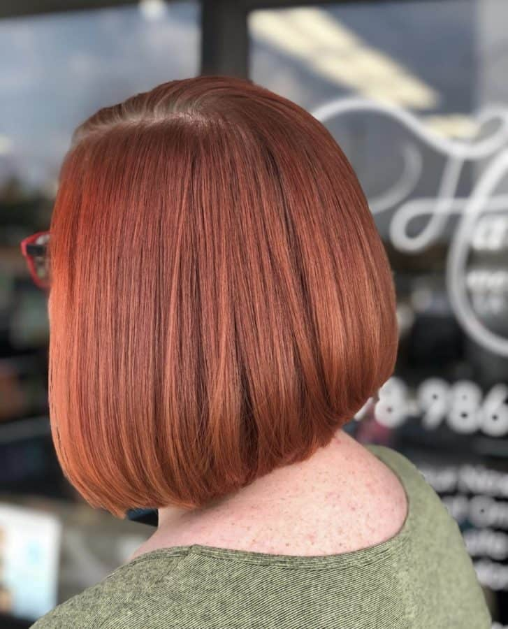Red Hairstyles & Bob Haircuts by Destiny Moody - MUAH Destiny