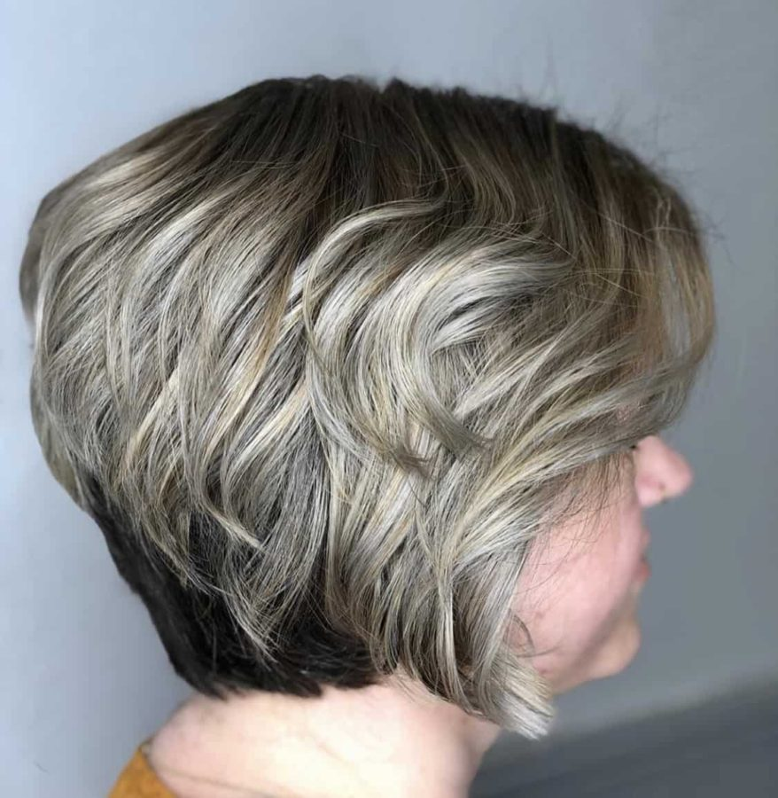 Icy Blond Short Bob Haircut by Destiny Moody - MUAH Destiny