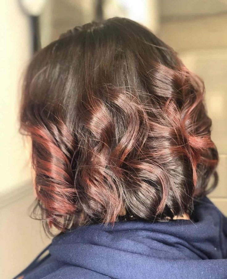 Beautiful Bob Haircut With Spiral Curls by Destiny Moody - MUAH Destiny