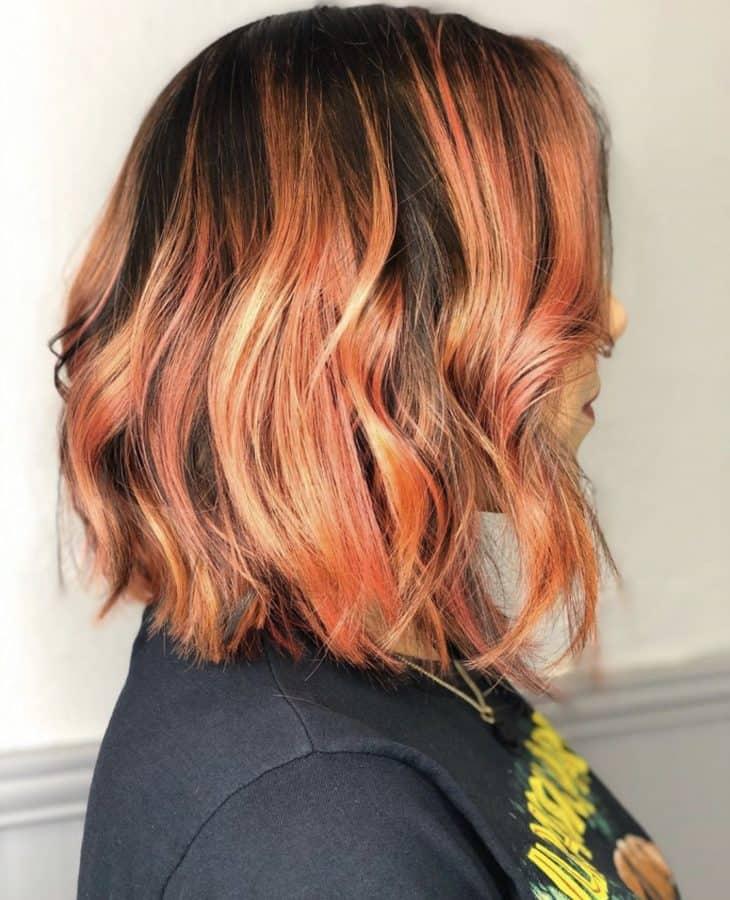 Vivid Fire Color & Hairstyles by Destiny Moody - MUAH Destiny