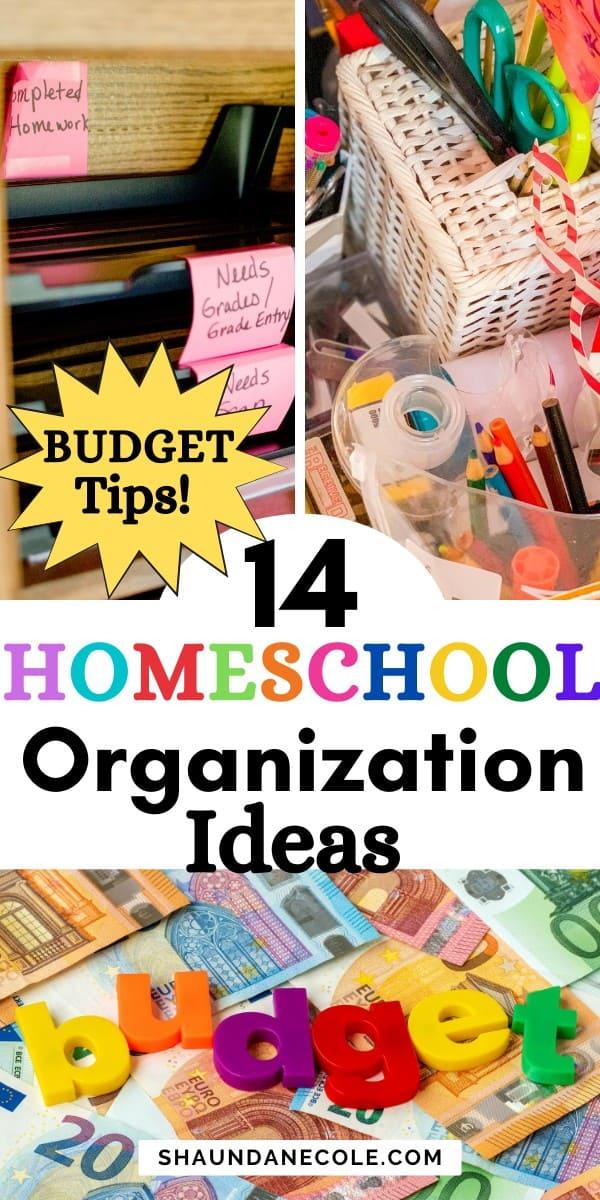 Homeschool Budget Tips & Ideas