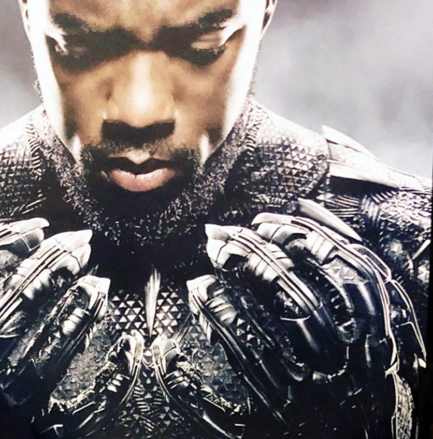 Black Panther Chadwick Boseman King T'Challa