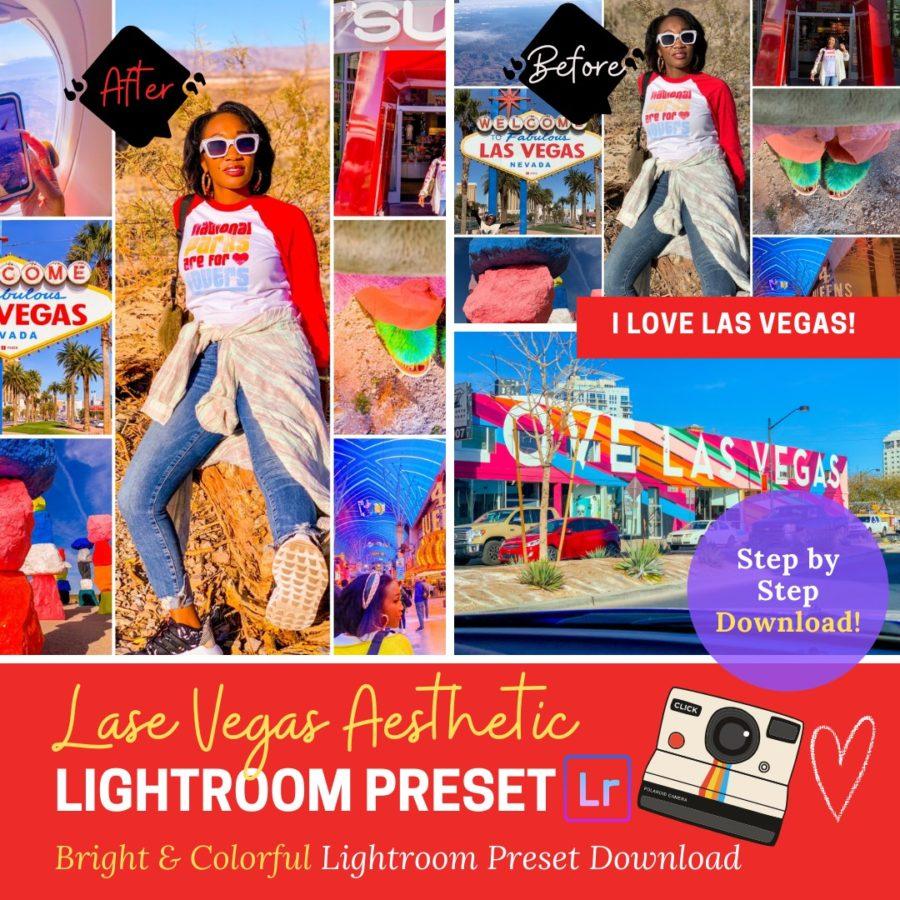 I Love Las Vegas Bright & Colorful Lightroom Preset