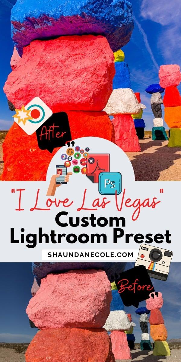 Las Vegas Photography Aesthetic Lightroom Editing