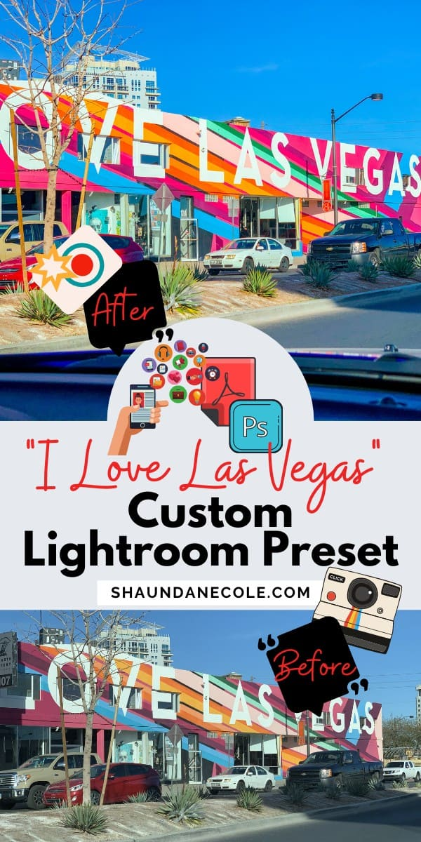 Las Vegas Photography Custom Lightroom Presets Download
