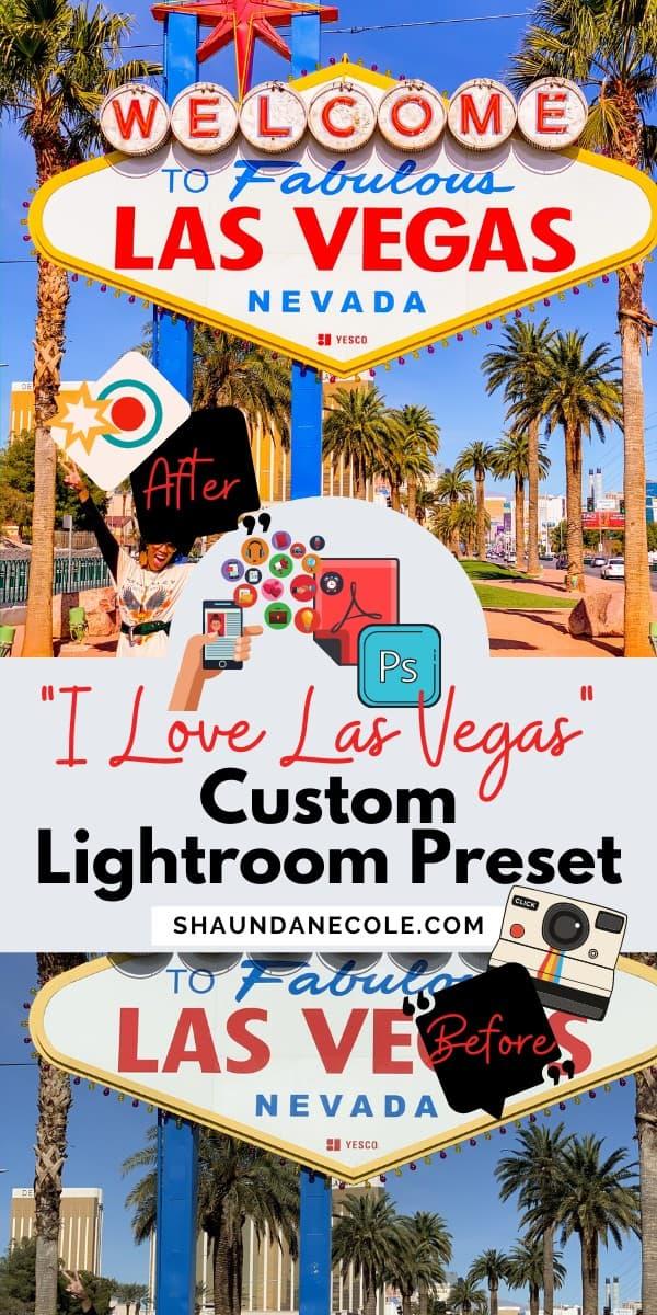 Las Vegas Blogger Photography Presets