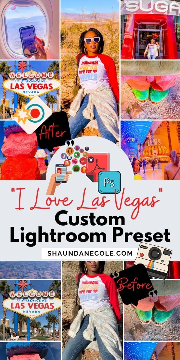 Las Vegas Photography Custom Lightroom Preset Tutorial