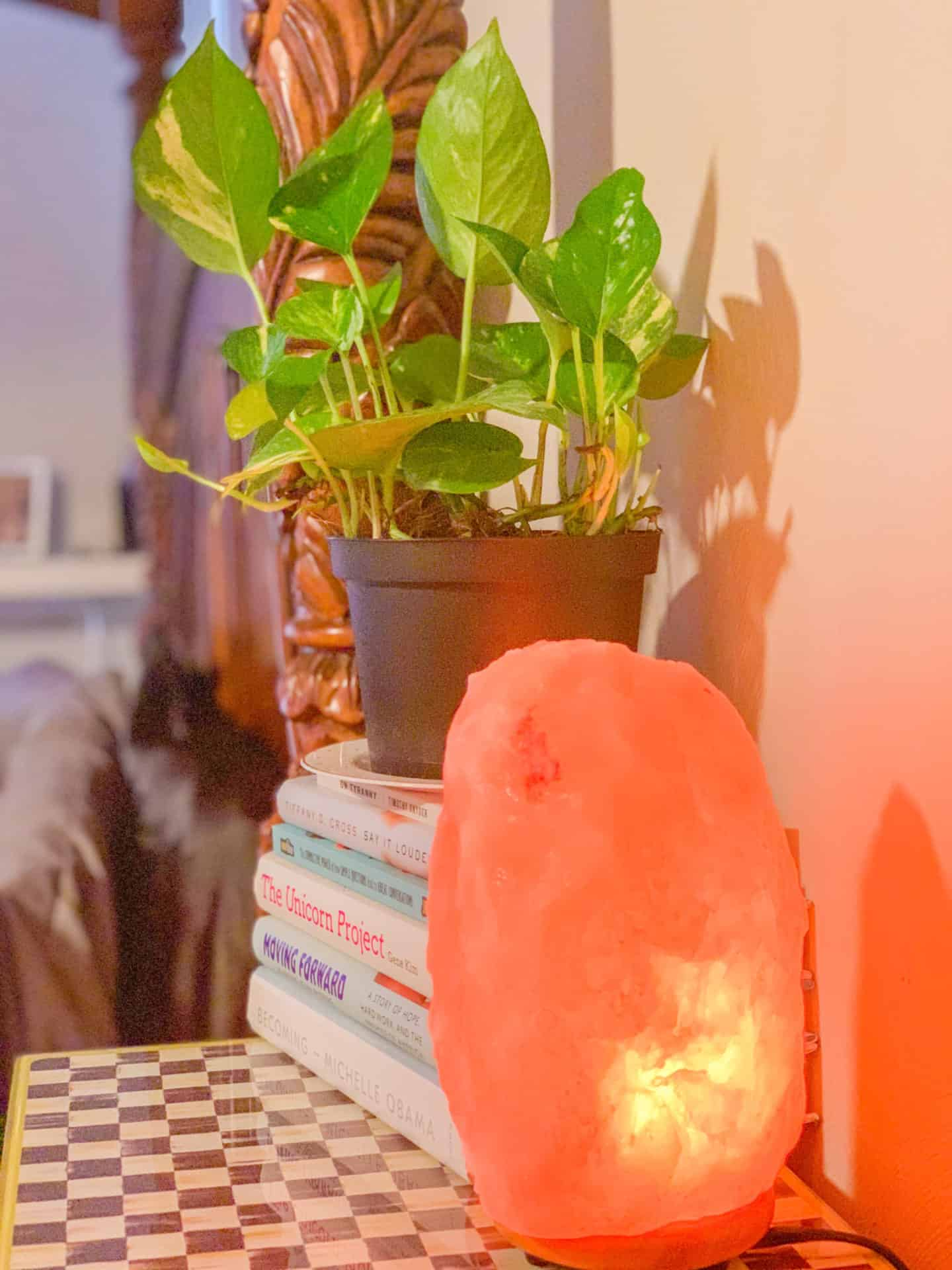How To Decorate Boho Bedroom Decor Salt Lamp