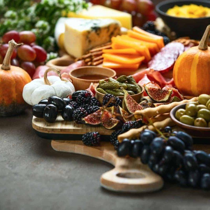 Autumn Fall Charcuterie Board