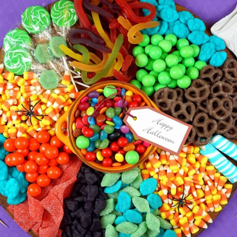 Chocolate & Candy Charcuterie Board Ideas