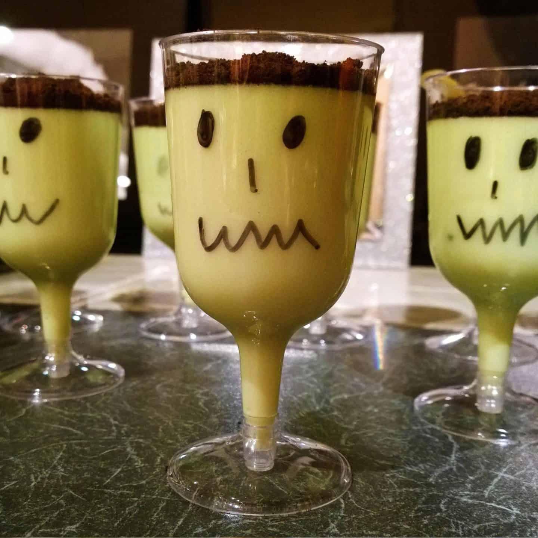 Halloween Frankenstein Drinks