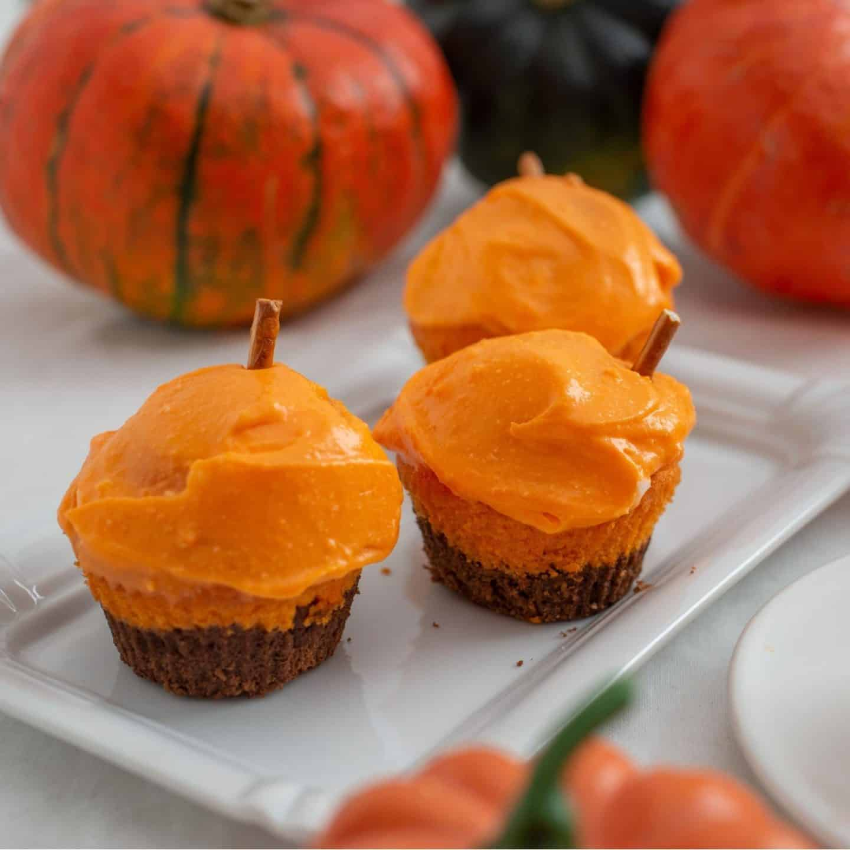 Halloween Party Pumpkin Cupcakes