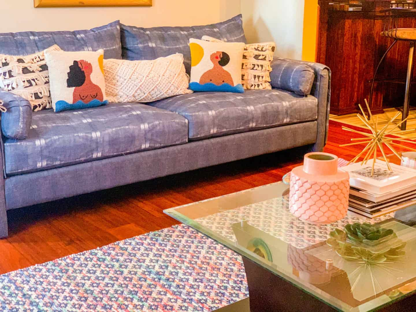 Justina Blakeney Jungalow Couch & Accent Pillows