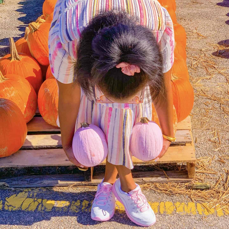 Pink Halloween Pumpkins